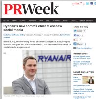 FireShot Screen Capture #127 - 'Ryanair's new comms chief to eschew social media I PR & public relations news I PRWeek' - www_prweek_com_uk_bulletin_prweekukdaily_article_1168936_ryanairs-new-comms-chief-eschew-socia